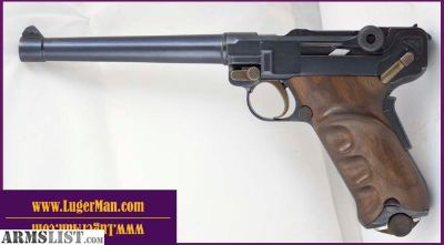 For Sale: Luger 45ACP Target Model with 6 inch heavy barrel , similar to 1906 and P08 DWM Lugers but in 45 ACP