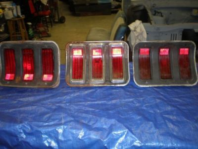 Find 1967-68 MUSTANG TAILLIGHTS motorcycle in Baltic, Connecticut, United States, for US $20.00