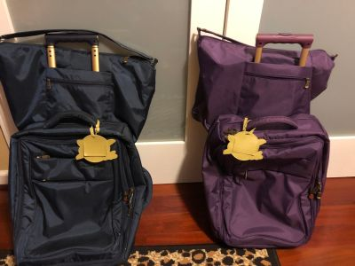 New carry on luggage & tote