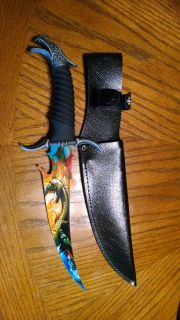 Dragon Bowie knife