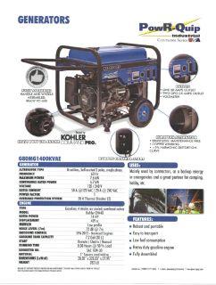 G8000 Portable Generator