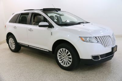 2014 Lincoln MKX Base (White Platinum Metallic Tri-Coat)