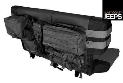 Buy 13246.01 RUGGED RIDGE Rear Cargo Seat Cover, Black, 76-06 Jeep CJ & Wrangler motorcycle in Smyrna, Georgia, US, for US $149.24