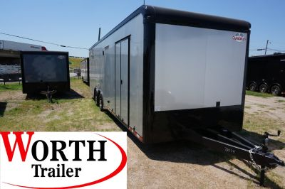 28 ft. Eliminator Super Stock Racer's Pkg Trailer ST# 78674