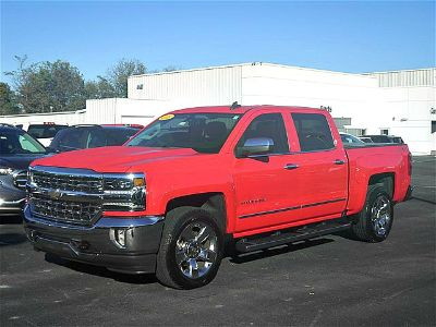 2016 Chevrolet Silverado 1500 LTZ w/1LZ (Red Hot)