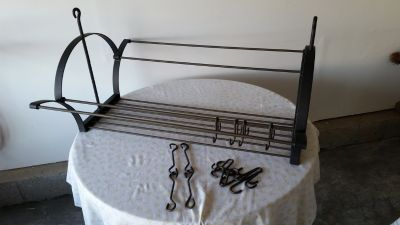 Pot Rack from Rowe Pottery
