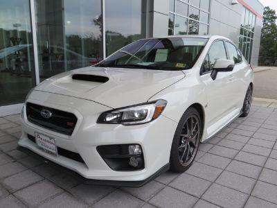 2017 Subaru WRX STi Limited (white)