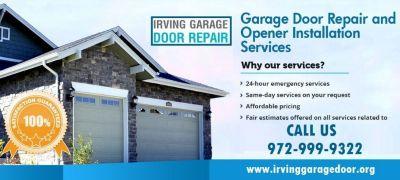 Most Reliable Garage Door repair | Irving, TX