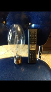 Cool old, large light bulb...don't know the size or if it works. Could be the one posted in extra pictures.. Asking $8.00...just cool...