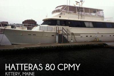 1984 Hatteras 80 CPMY