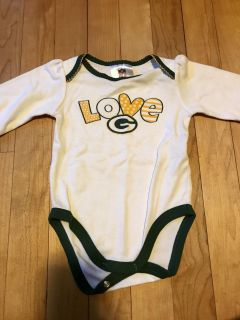 3-6 Month Packer Onsie