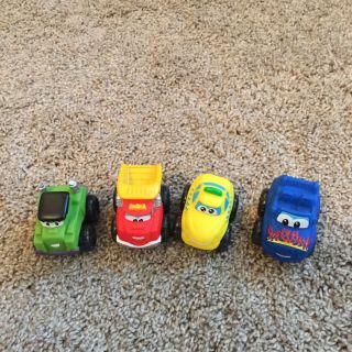 Tonka Chuck The Dump Truck & Friends Minis