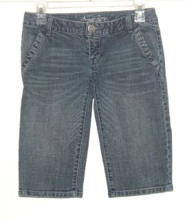American Rag Cie Flap Pocket Denim Jean Bermufa Shorts Womens 1 Juniors