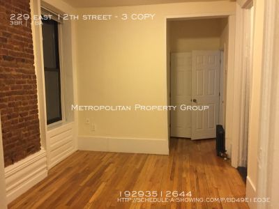 Greenwich Village - 3 bedroom with private outdoor patio