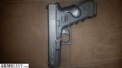 For Sale/Trade: Glock G22 with Crimson trace grip