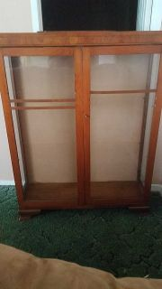 Old style China Cabinet with lock