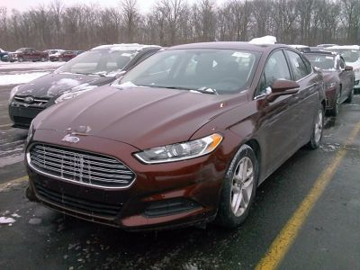 2015 Ford Fusion 4dr Sdn SE FWD (Red)