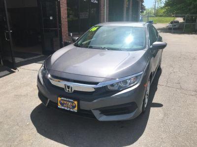 2016 Honda CIVIC SEDAN 4dr CVT LX (gray gray gray)