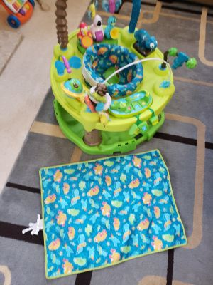 Evenflow Exersaucer Triple Fun Activity Learning C
