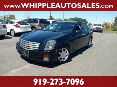 2003 Cadillac CTS Base (Black)