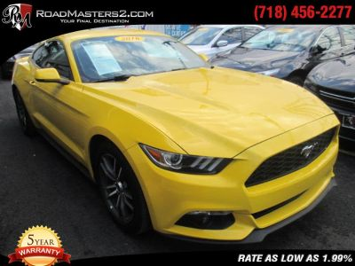 2016 Ford Mustang 2dr Fastback EcoBoost Pr (Triple Yellow Tri-Coat)
