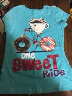 new girls T-shirt Sweet ride 7/8