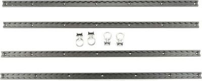Sell 8 PIECE CARGO TIE DOWN RAIL & RING KIT-TRAILER & PICKUP (TRAK8) motorcycle in West Bend, Wisconsin, US, for US $78.11