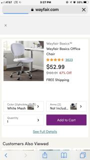 ISO DESK CHAIR