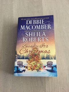 Paperback Because its Christmas by Debbie MaComber & Sheila Roberts