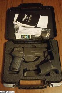 For Sale/Trade: Sig P320 Compact .357 Sig *upgraded trigger* LNIB w/ extra frame