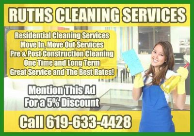 RUTHS HOUSE CLEANING SERVICES
