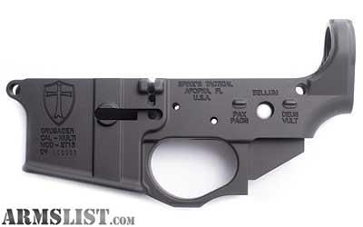 For Sale: NEW Spike's Tactical CRUSADER Lower Receiver