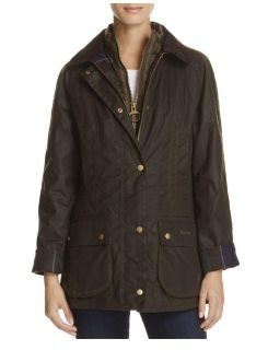 Barbour waxed jacket with vest 10