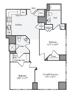 $9060 2 apartment in Chinatown