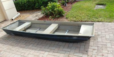 Flat bottom 10 ft. Boat