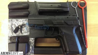 "For Sale: CZ 75 P-07,, Full Size, 9MM, 3.8"" Barrel, 91086"