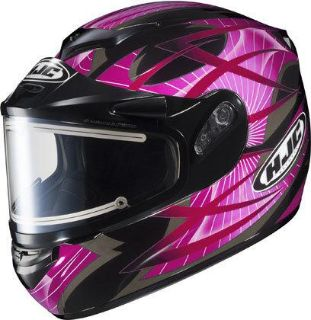 Find HJC CS-R2 2XL Storm Pink Electric Snowmobile Snow Sled CSR2 Helmet New XX 2X XXL motorcycle in Ashton, Illinois, US, for US $175.49