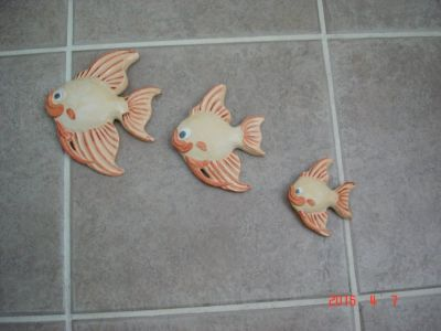 Fish decor pieces