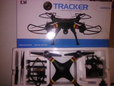 IDM TRACKER GYRO CAMERA QUADCOPTER
