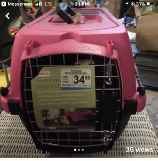 New Petco Pink Dog taxi/carrier