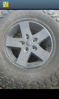 "17"" Jeep rims 5 hole bolt pattern"