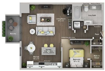 $1780 1 apartment in Detroit Downtown