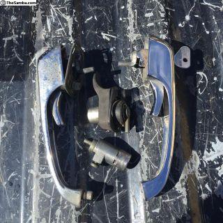 Bus door handle set keyed alike 75-79