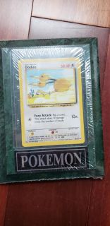 Pokemon Doduo plaque new and sealed