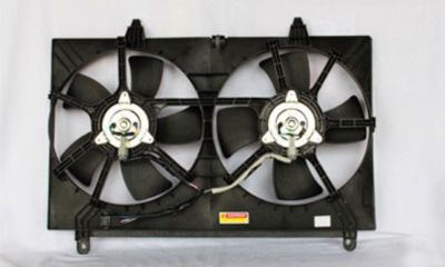 Purchase Dual Radiator and Condenser Fan Assembly TYC 621210 fits 03-08 Infiniti FX35 motorcycle in West Palm Beach, Florida, United States, for US $136.53