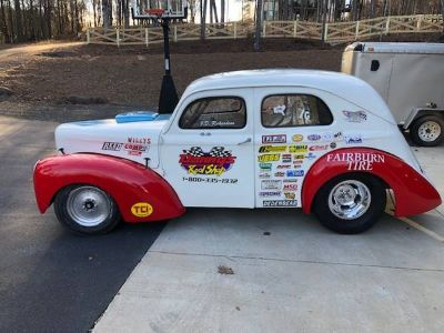 39 WILLYS STEEL BODY DRAG CAR BBC
