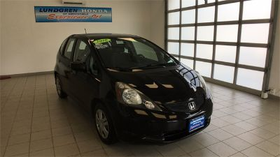 2010 Honda Fit Base (Crystal Black Pearl)
