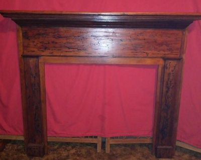 Antique Fireplace/Mantle