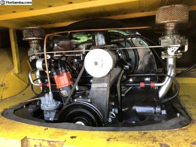 Okrasa 36hp Vintage Engine