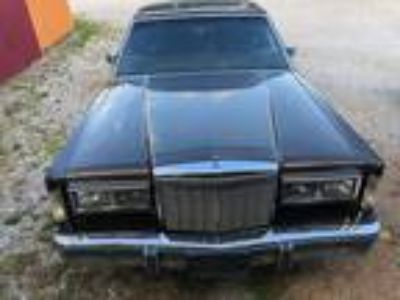 1985 Lincoln Town Car For Sale